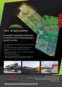The Highlands Estate Development map