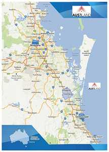 Orientation map showing Northern Gold Coast image